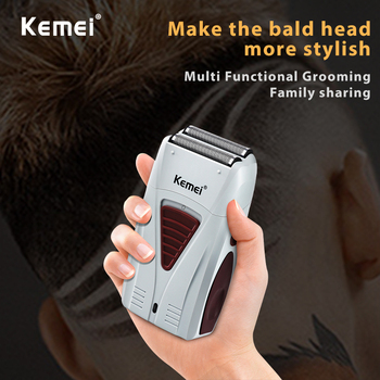 kemei rechargeable electric shaver facial care men s shaving electric shaver hair trimmer high quality material rscw 5600 kemei electric shaver for men Machine for shaving electric shaver Electric shaver for men Electric razor one blade