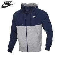 Original New Arrival   NIKE M NSW CE HOODIE FZ BB HYBRID Men's  Jacket Hooded  Sportswear|Running Jackets|Sports & Entertainment -
