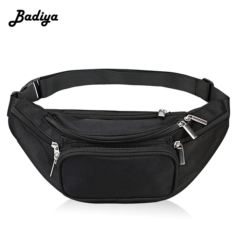 Fashion Men Waist Pack Outdoor Sports Mountaineering Fanny Pack Multifunction Phone Coin Card Purse Shoulder Bag Male Belt Bag