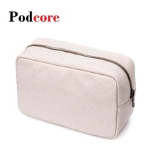 Handbag Makeup-Pouch Cosmetic-Bag Neceser Canvas Toiletry 23--15--10cm Inner-Bag Mujer