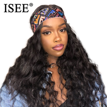 ISEE HAIR Loose Deep Wave Lace Front Wig 13X4 Peruvian Lace
