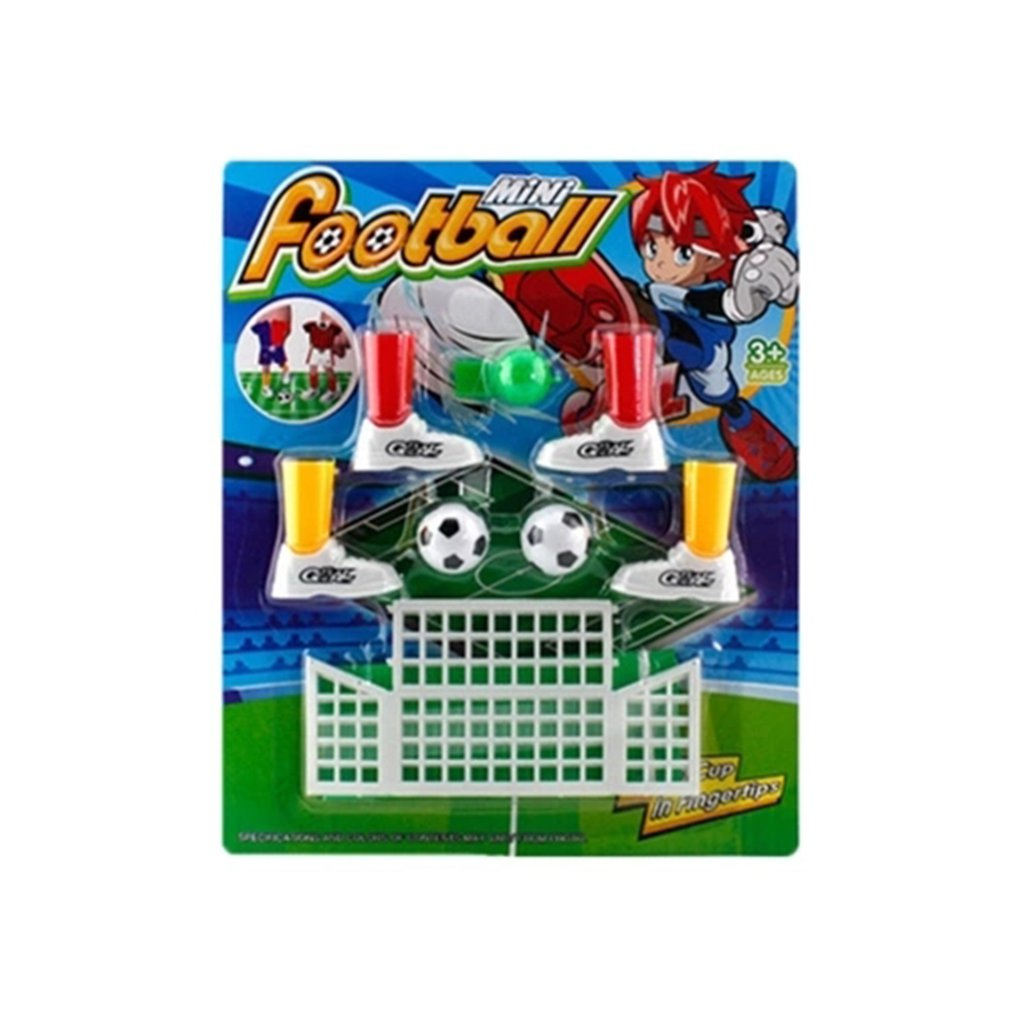 Mini Soccer Game Finger Toy Football Match Funny Table Game Set With Two Goals