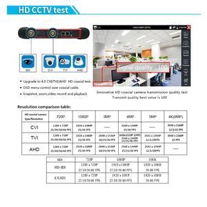 Image 5 - 7 inch 4k IP Camera tester kamery CCTV 8MP TVI CVI SDI CVBS IP AHD tester monitor security camera tester HDMI TDR OPM Tracer