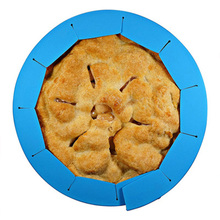 Adjustable Pie Crust Shield 100% Food Grade Silicone Pie Weights Cover Pie Shields for Baking Pie Pans Pie Crust Fit  to 10 inch the tomato pie