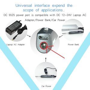 Image 4 - TS100ミニデジタル電気はんだごて液晶プログラマブル表示調整可能な温度はんだ先端と電源