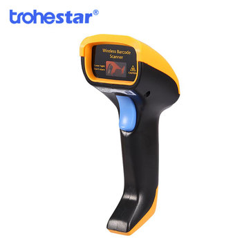 Wireless Barcode Scanner USB Handheld Bar Code Reader Laser Cordless Data Collector Portable Terminal Inventory Device Scanners wireless laser barcode scanner long range cordless bar code reader for pos