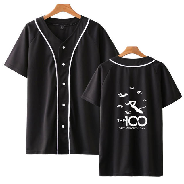 THE 100 THEMED BASEBALL T-SHIRT (10 VARIAN)