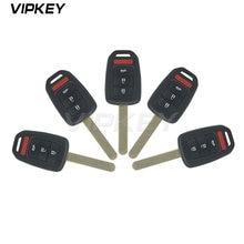 Дистанционный ключ 5 шт внешний корпус автомобильного ключа