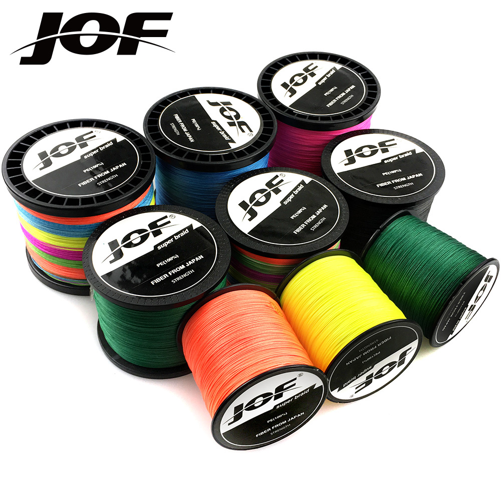 New JOF 300M multifilament fishing line braid 22LB-78LB PE super strong braided line fishing 8x fishing wires thread