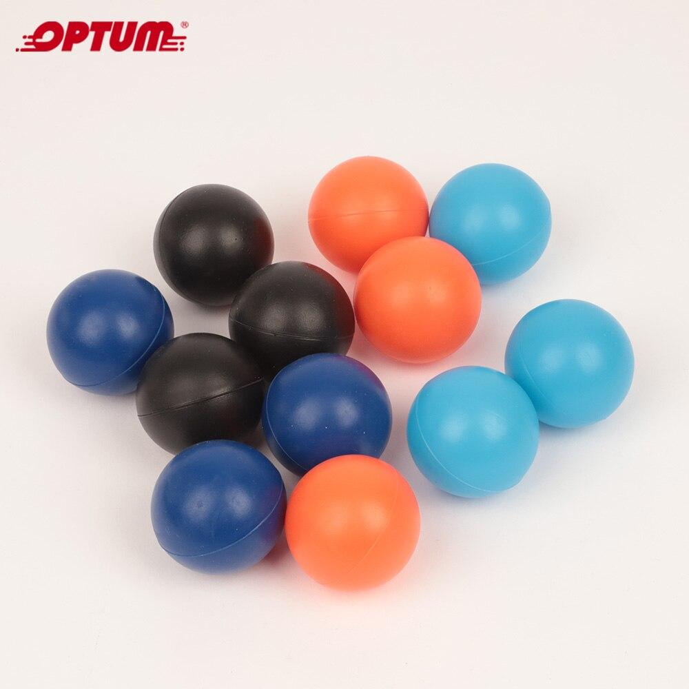 Thermo-Plastic-Rubber 40mm Beach Balls For Beachball Smashball Kadima Matkot Ball(Set Of 12 Balls)