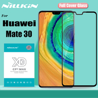 Nillkin for Huawei Mate 30 5G 6.32'' Glass Screen Protector XD Full Coverage 3D Safety Tempered Glass for Huawei Mate 30 Mate30