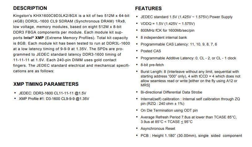 8g = 2 pces x 4gb pc3-memória do desktop para o jogo dimm