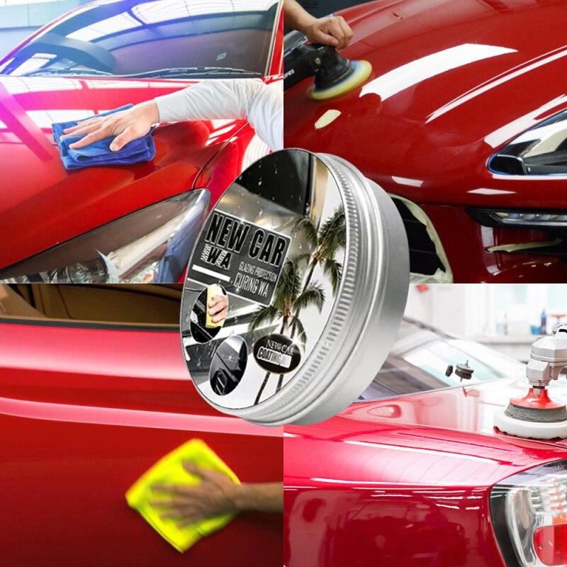 20 мл автомобильные покрытия воском и устойчивая к царапинам автомобилей Польский крем и пылеотталкивающее воск для полировки для удаления ...