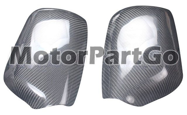 Real Crabon Fiber Mirror Cover 1 pair for Old Mazda 3  M3 2003-2012 T243M 1