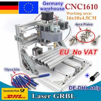 цена на 【DE free VAT】 CNC 1610 with ER11,DIY GRBL CNC Engraving Machine,mini Pcb Milling Machine,Wood Carving Machine,CNC Router Machine