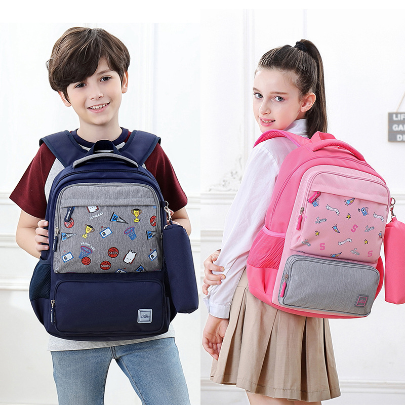 Schoolbag For Elementary School Students Sun Item Cartoon Bag Children Bag Primary School Bag Kids Bag New Style CHILDREN'S Scho