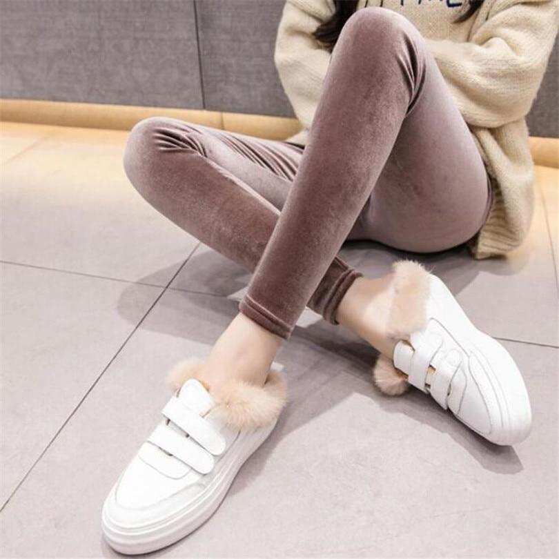 LJCUIYAO Fashion Women Heat Fleece Winter Stretchy Leggings Warm Fleece Unlined Cat Thermal Pants Style Soft Fabric Hot Sale