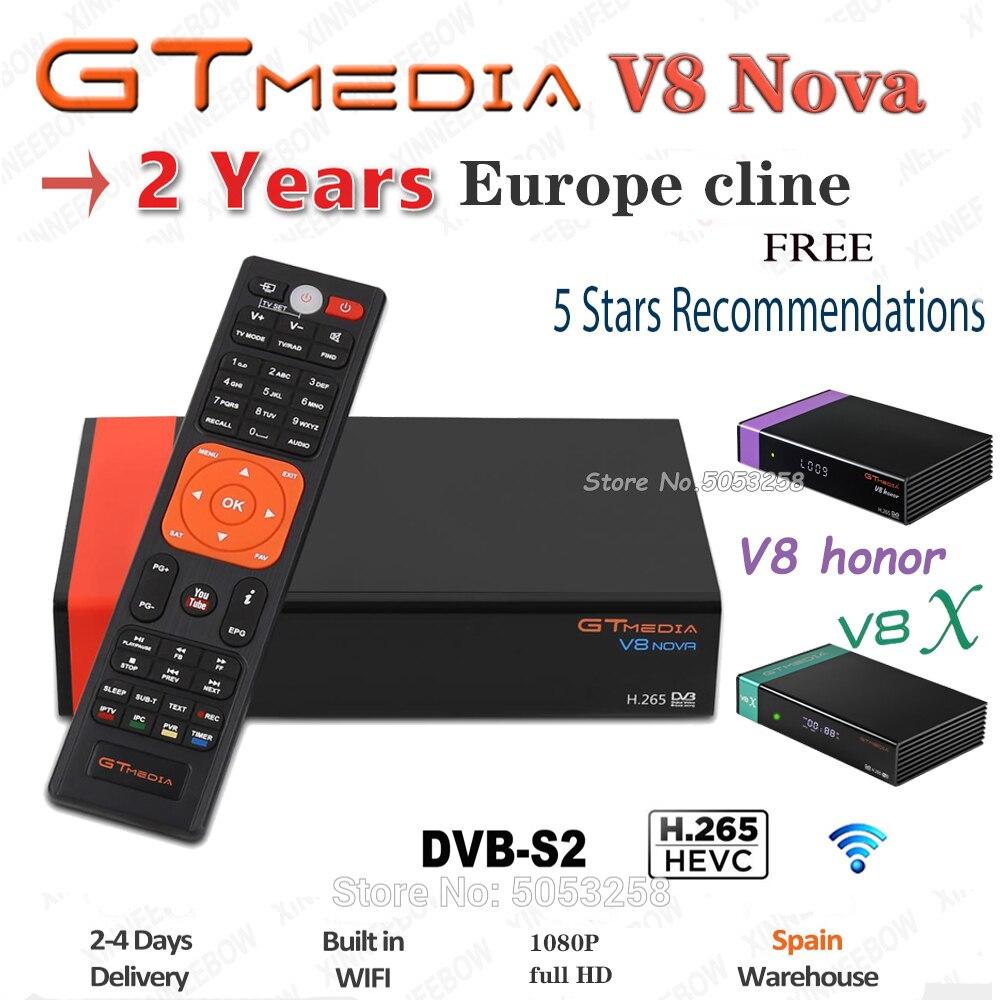 2 jahre Europa cline Spanien Gtmedia v8 nova Gtmedia v8X Rezeptor Deutschland Senden von Spanien schnelle gleiche wie Gtmedia V9 super