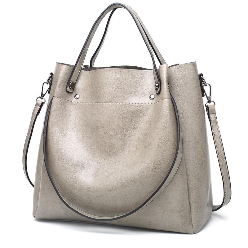 Женская сумка из натуральной кожи, большие кожаные дизайнерские большие сумки-шопперы для женщин, роскошные сумки через плечо от известног...