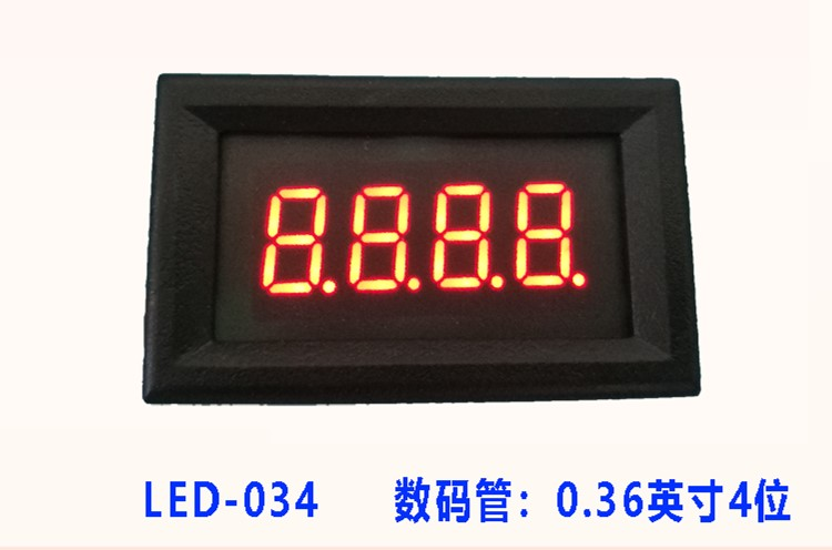 RS485 Serial Port Table LED Digital Tube Display Screen TTL Display Module PLC Communication MODBUS 3Bit/4Bit/ 5Bit Digit Tube