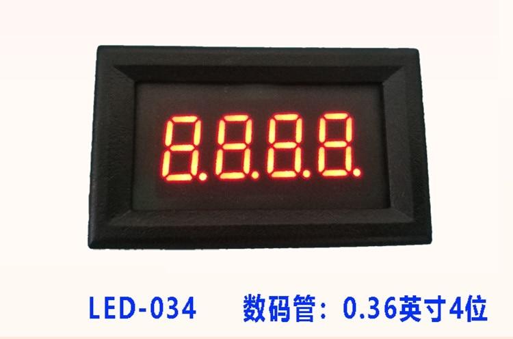 RS485 Serial Port Table LED Digital Tube Display Screen TTL Display Module PLC Communication MODBUS 3Bit/4Bit/ 5Bit Digit Tube
