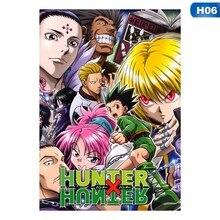 Poster Anime Good-Quality Home-Decor Hot-Japan Art-Paper Wall-Scroll Cosplay Hunter-X-Hunter