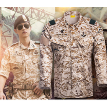 Army Suit Jackets Tactical-Pants Military-Uniform Combat Camouflage Cotton Outdoor Unisex