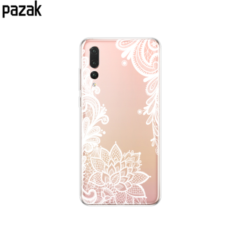 Silicone phone Case For huawei P20 LITE cases covers for huawei p20 pro phone back cover for huaweiP 20 Lit Coque etui clear Multan