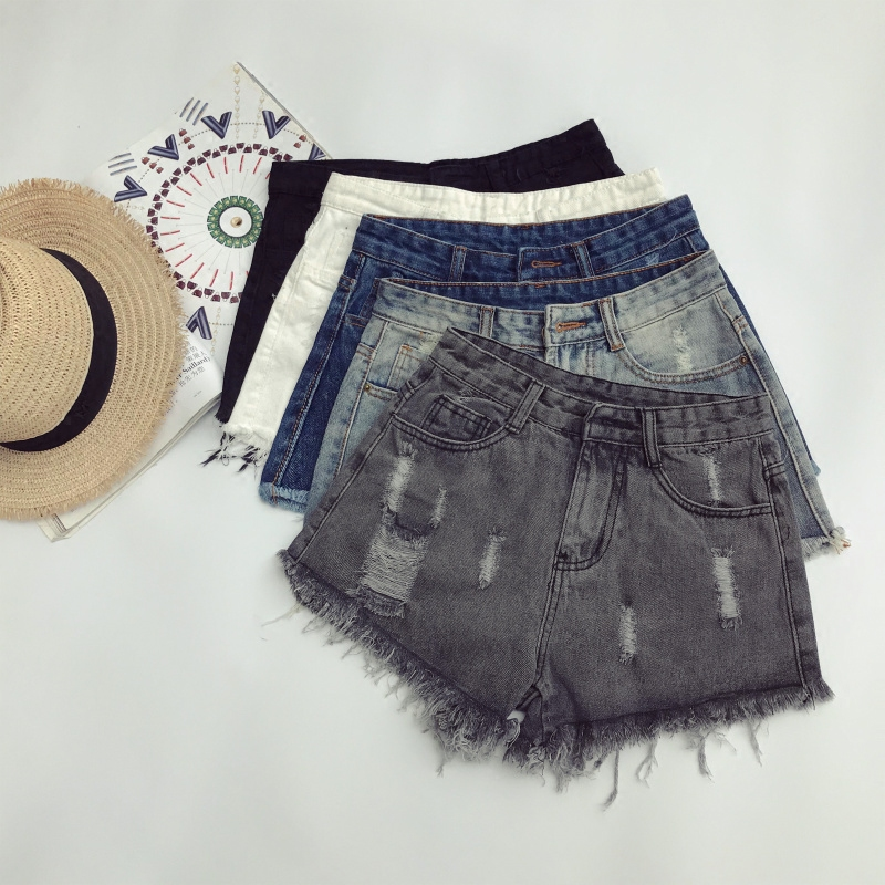 Cheap Wholesale 2018 New Spring Summer Hot Selling Women's Plus Big Size Fashion Casual Sexy Shorts Outerwear A242-180501