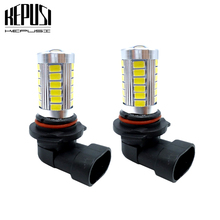 2pcs 9005 HB3 Car LED Lamp Light Bulbs Car Accessories External Led Fog Light Bulbs For 2015 2014 MAZDA 3 5 6 CX-5 CX-9 3 Sport oem fog lights halogen lamp kit for 2014 2015 2016 mazda cx 5 cx 5 ka0h v4 600