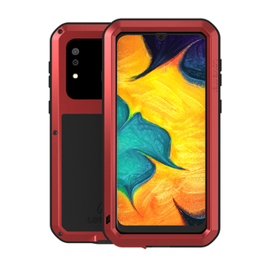 Image 3 - Love Mei Metal Case For Samsung Galaxy A30 A20 Armor Shockproof Phone Cover For Samsung A30 A20 Rugged Full Body Anti Fall Case