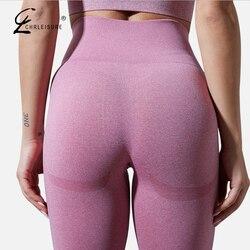 Women Leggings Fitness Push Up Leggings Gym Breathable Sexy Legging High Waist Workout Seamless Legging