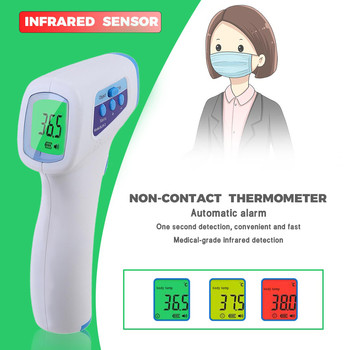 Touch-Free Thermometre Infrarouge Forehead Thermometer Digital Body & Obeject Thermometer Measurement тест на коронавирус#GH
