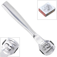 Stainless Steel Leathercraft Skiving Tool with 10 Blades for Thinning Leather Tools