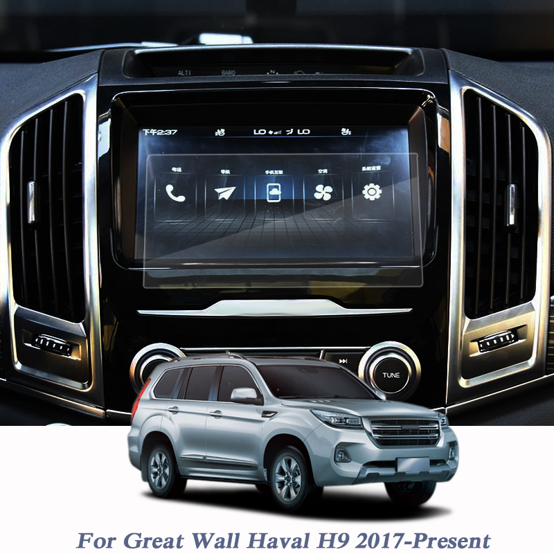 For Great Wall Haval H9 2017 Present GPS Navigation Screen Glass Protective Film GPS Screen Protective Film Internal Accessories|Automotive Interior Stickers| |  - title=