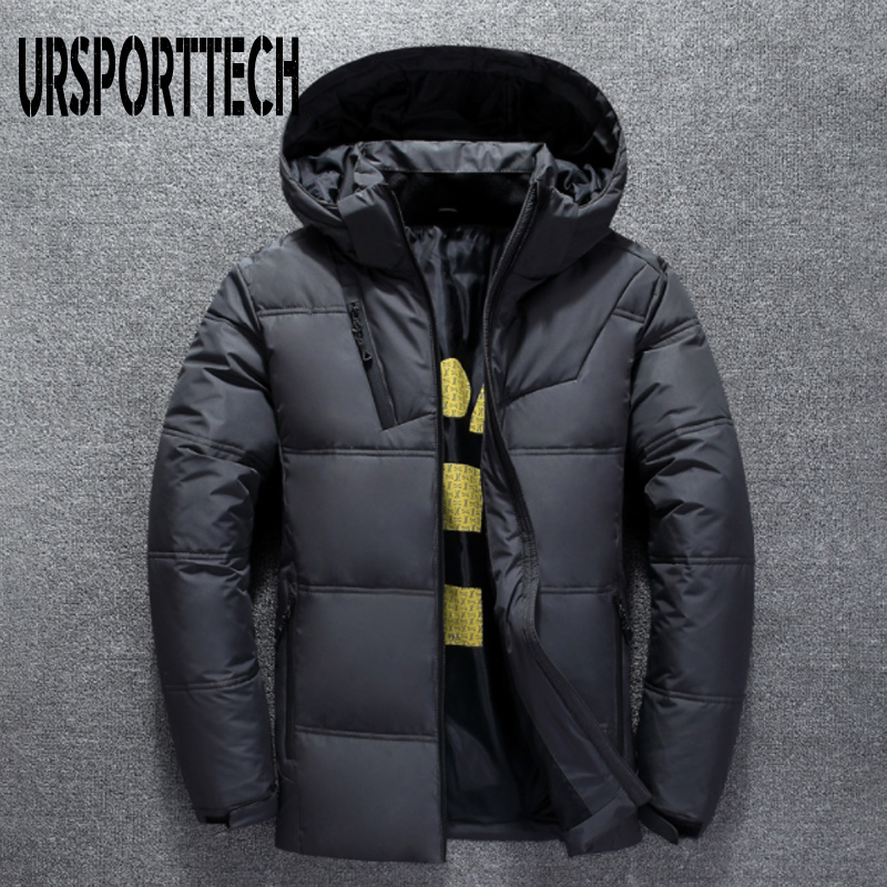 Image 5 - 2019 New High Quality White Duck Thick Down Jacket Men Coat Snow Parkas Male Warm Brand Clothing Winter Down Jacket Outerwear-in Down Jackets from Men's Clothing