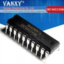 10 sztuk SN74HC245N DIP20 SN74HC245 DIP 74HC245N DIP 20 74HC245 HD74HC245P nowy i oryginalny IC