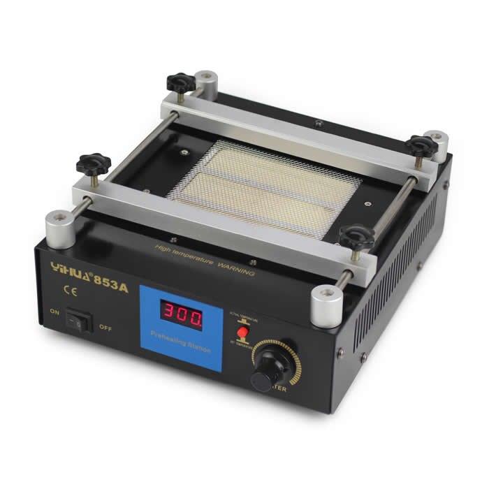 YIHUA 853A Lead Free Preheating station Motherboard BGA Preheater Soldering machine
