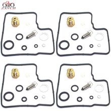 4set for ST1100 1991 2001 ST1100A ST 1100 A Motorcycle carburetor repair kit floating needle seat parts