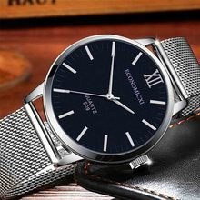 2020 New Black Quartz Clock LIGE Mens Watches Top Brand Luxury Watch For Men Simple All Steel Business Wrist Watch Reloj Hombre(China)