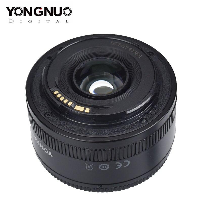 Yongnuo Lens For Nikon Canon Yn50 Mm Yn50mm F1.8 Camera Lens For Canon Nikon D800 D300 D700 D3200 D3300 Slr Dlsr Camera Lens