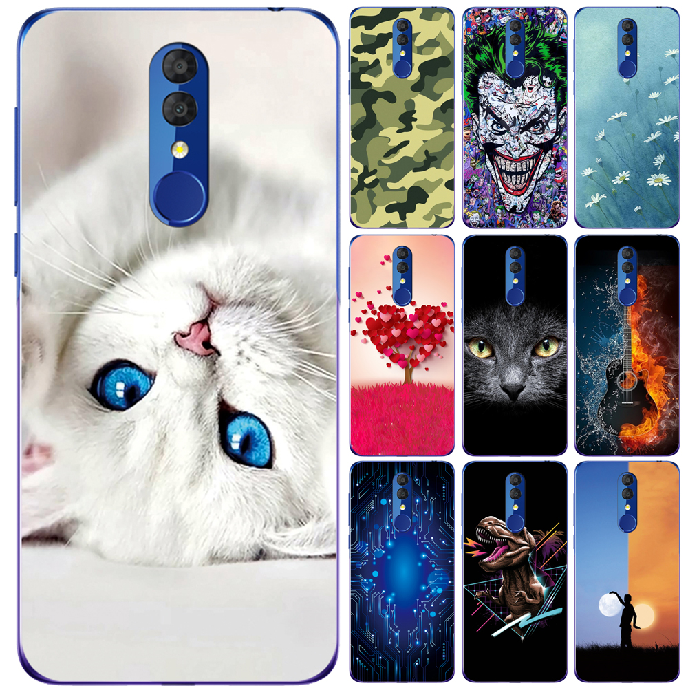 Silicone Cover For Alcatel 3 2019 5053Y 5053D 5053K Case Soft TPU Protective Phone Back Case Bumper Shell