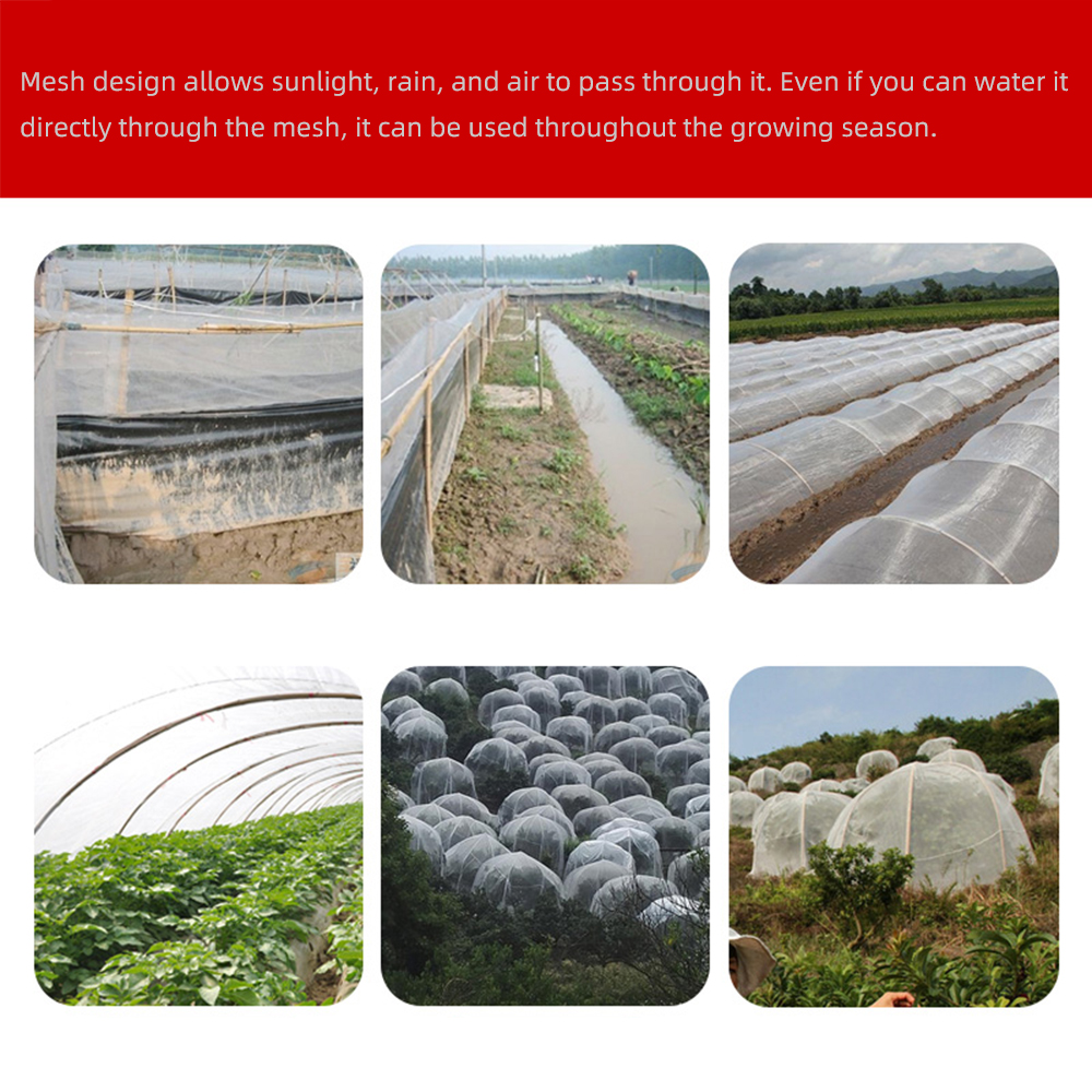 Animal Large Vegetable Bird Pest Insect Protective Net Mesh Garden Crop Plant