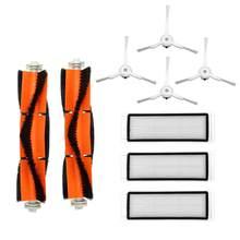 9 pçs aspirador de pó principal escova hepa filtro kit para xiaomi roborock s50 s51 s55 s5 robô aspirador de pó acessórios