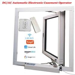 Створчатый привод, открывалка для окон, электрический двигатель, автоматическое закрывание/открытое окно/парник, оператор окон, Wifi Tuya Alexa ...