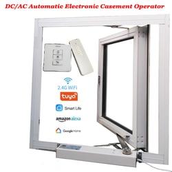Ouvre-fenêtre électrique automatique fermer/ouvrir fenêtre | Actionneur à cassure, moteur électrique automatique, Skylight/serre opérateur Wifi Tuya Alexa Google