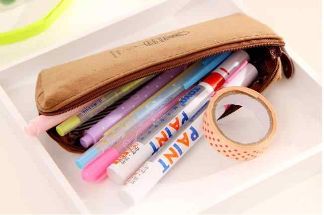 1 יח'\חבילה חדש הגעה נוסטלגי קלמר מכתבים ילדים ספר ילדים מתנה ארגונית תיק Kawaii קלמר