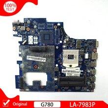 Original For Lenovo G780 LA-7983P notebook motherboard QIWG7 LA-7983P PGA989 HM76 DDR3 laptop main board