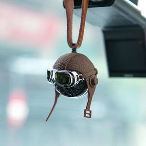 Car-Perfume Strap Car-Air-Freshener Hanging Division Airborne Luxury Creative Genuine-Leather