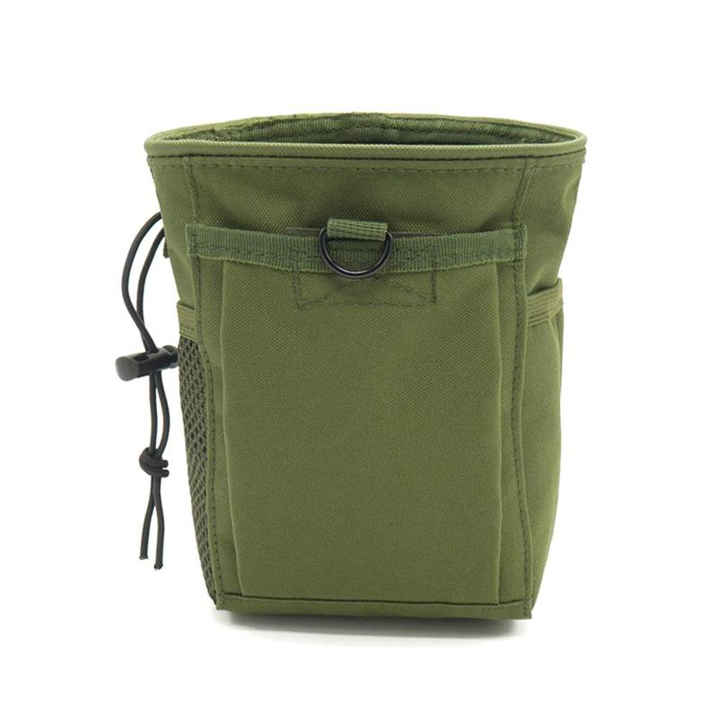 1x Portable Outdoor Metal Detector Finds Zipper Pouch Waist Bag For Metal Detecting